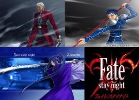 Fate Stay Night Reproduction on Archer  Assassin  And Lancer Fanclub   Myanimelist Net