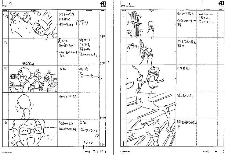 storyboard shigatsu wa kimi no uso