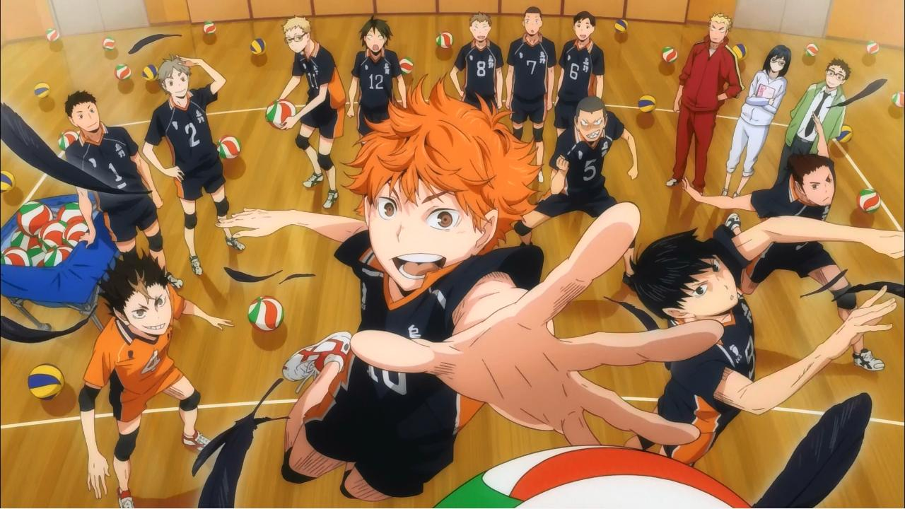 Haikyuu!! / 2014 / Anime / Mp4 / TR Altyaz�l�