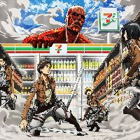 Attack on 7-Eleven?! Anime x Convenience Stores