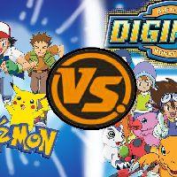 Digimon vs Pokemon: Children and their Cute Monster Partners