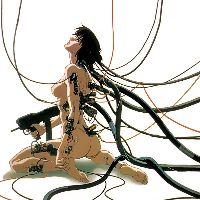 13 Cyberpunk GIFs from Ghost in the Shell