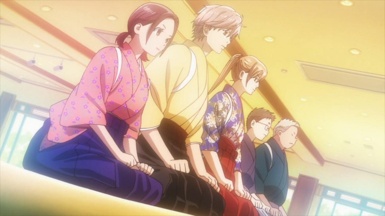 Chihayafuru team