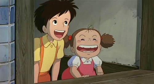 Tonari no Totoro: Mei Kusakabe, Satsuki Kusakabe
