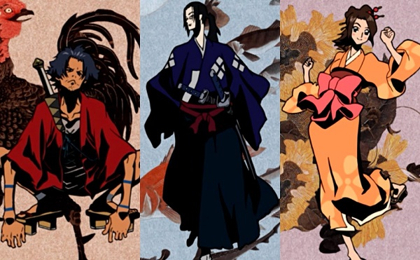 Samurai Champloo Anime Endings (ED)